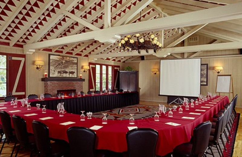 Conference area at Alisal Guest Ranch and Resort.