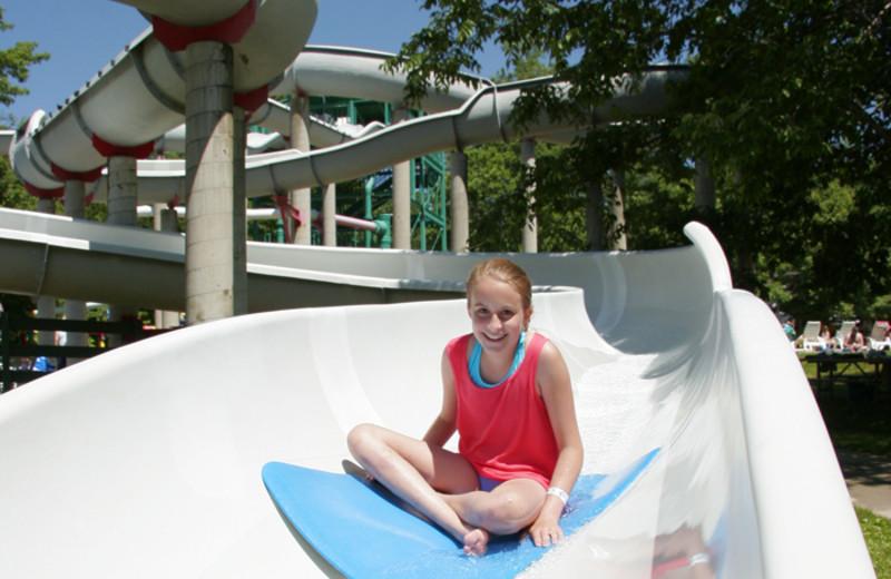 Waterpark at Lake Raystown.