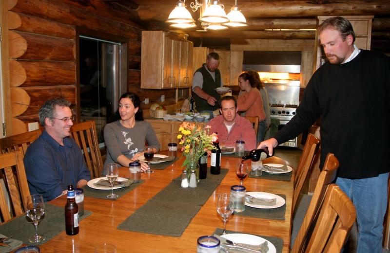 Groups at Alaska Heavenly Lodge.