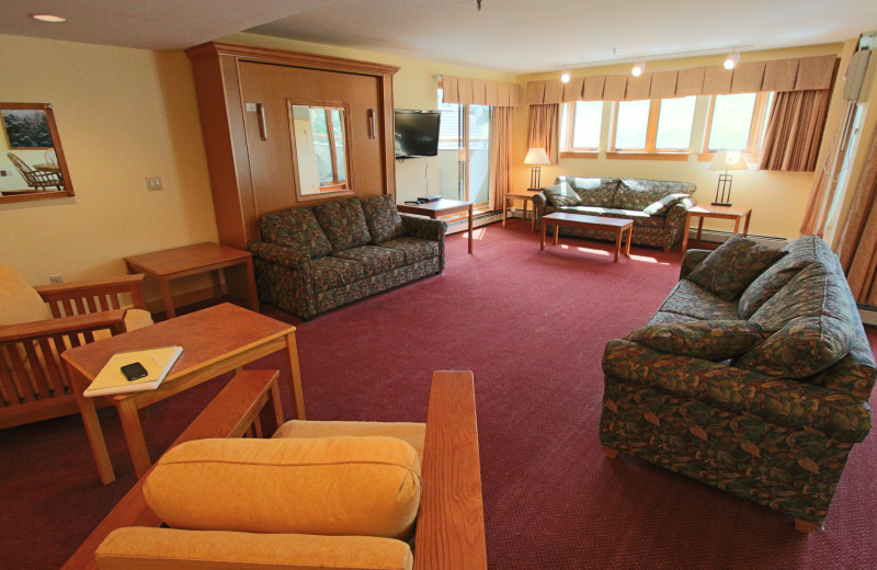 Suite interior at The Mountain Club.