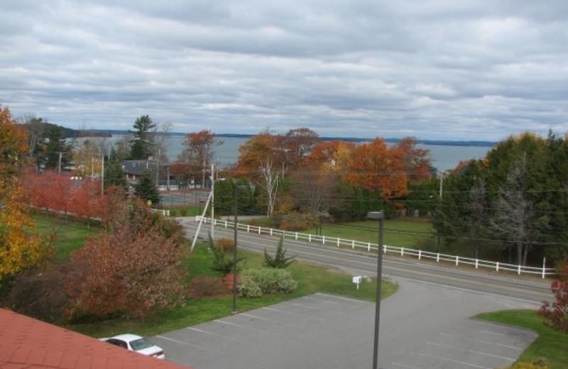 Scenic view at Acadia Inn.