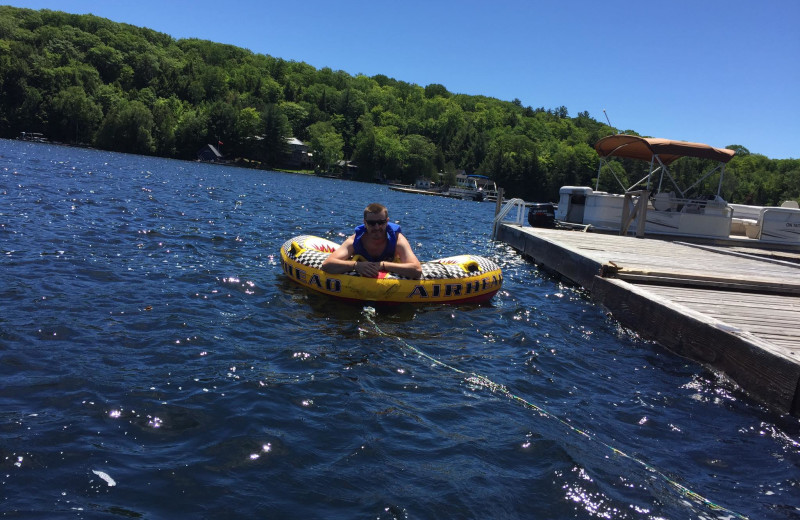 Tubing at Little Hawk Resort