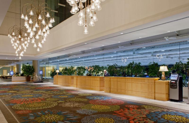 Lobby at Hyatt Regency Orlando International Airport