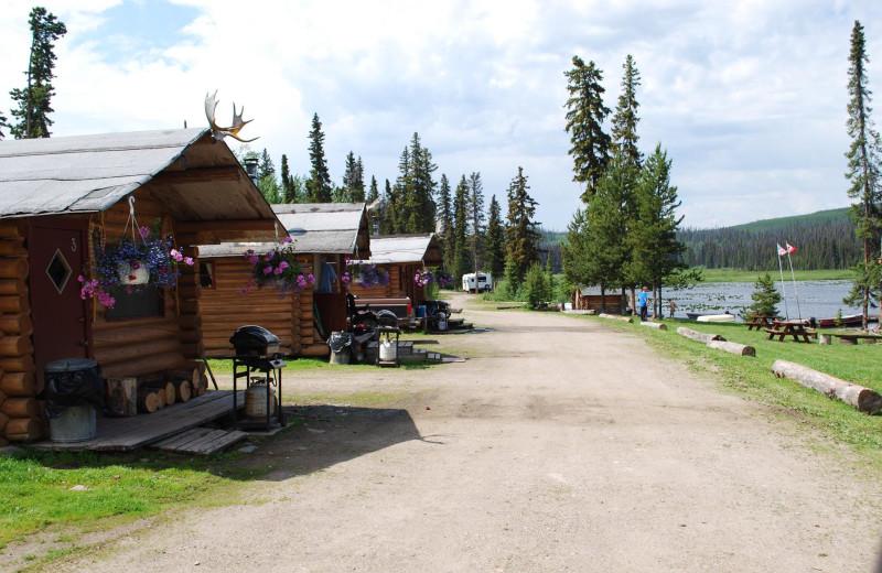 Cabins at Finger Lake Wilderness Resort.