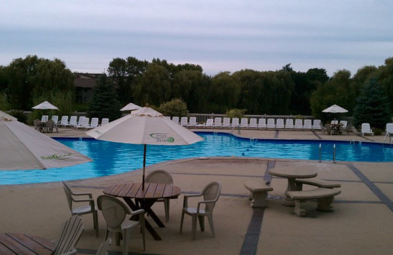 Outdoor Pool at the Olympia Resort: Hotel, Spa and Conference Center