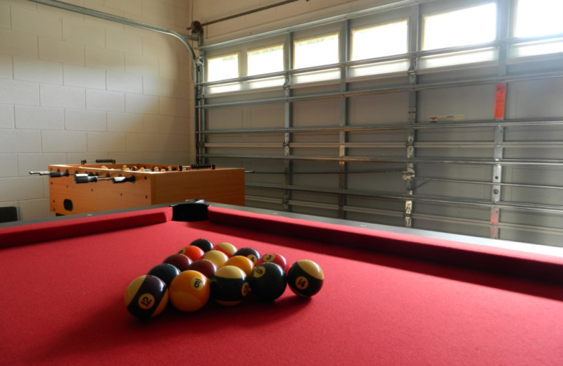 Rental billiard table at Florida Palms Vacation Villas