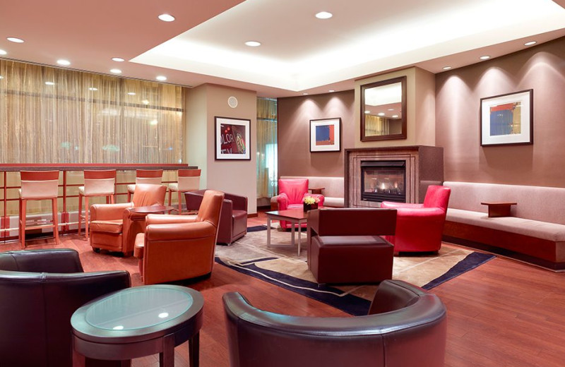 Lobby view at Club Quarters - Central Loop.