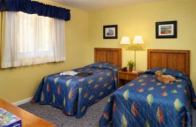 Resort bedroom at Summit Resort.