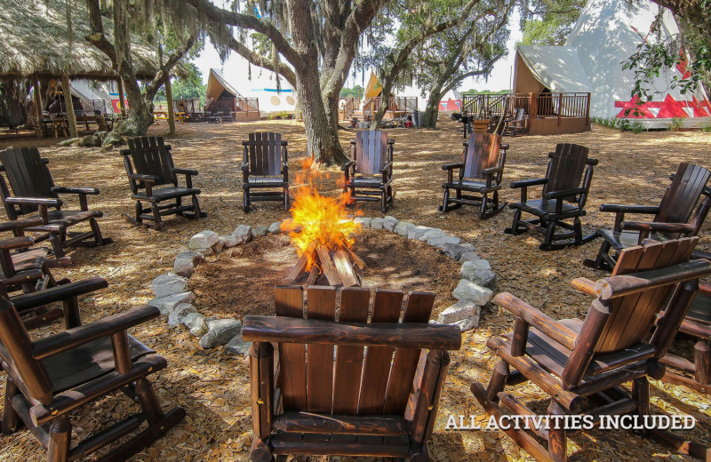 10 Luxe Dude Ranches Around the US | InsideHook |Dude Ranch Fire Pit