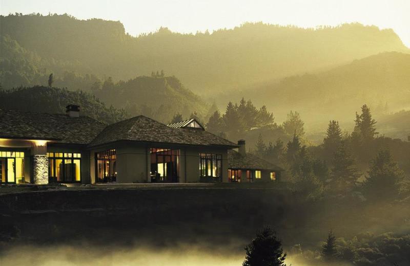 Exterior view of Treetops Lodge & Estate Rotorua.