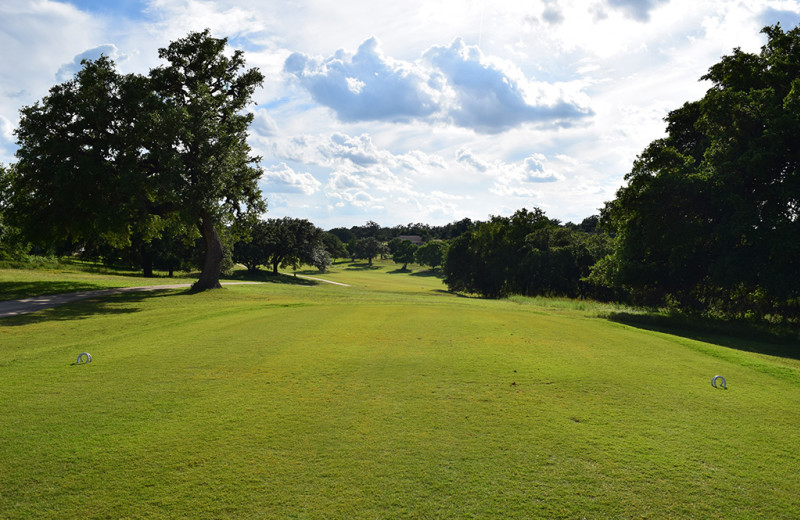 Golf course at Flying L Hill Country Resort & Conference Center.