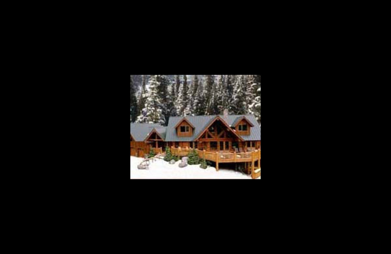 Exterior view of Elk Ridge Ranch & Outfitting.