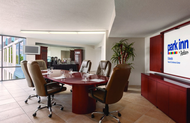 Meetings at Park Inn by Radisson Resort Orlando.