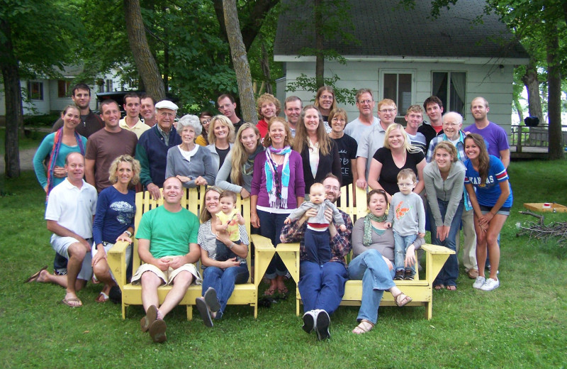 Family reunions at Woodlawn Resort.