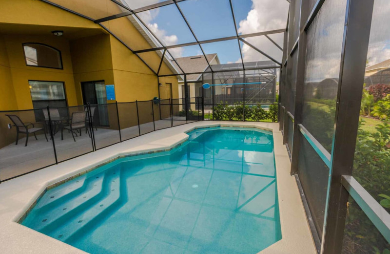 Rental pool at Contempo Vacation Homes.