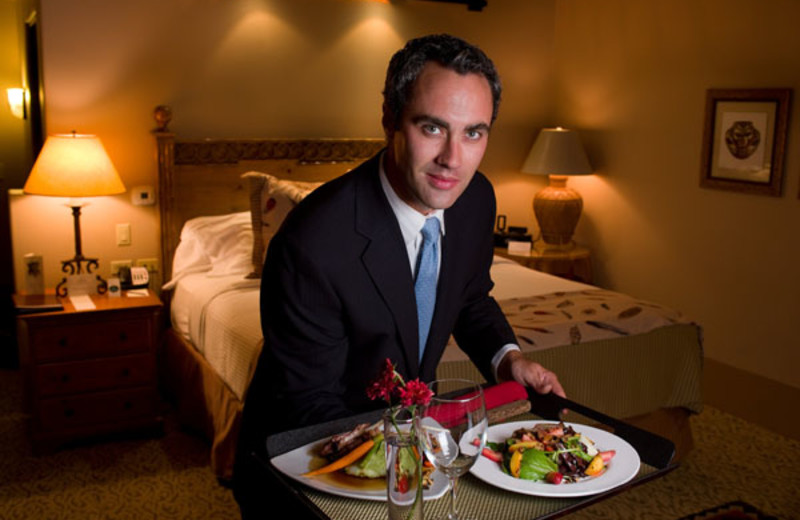 In-room dining services