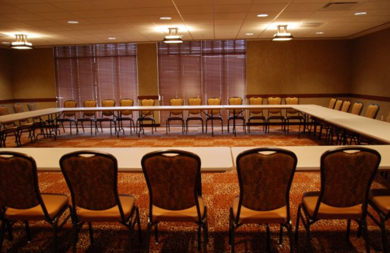 Conference room at Honey Creek Resort.