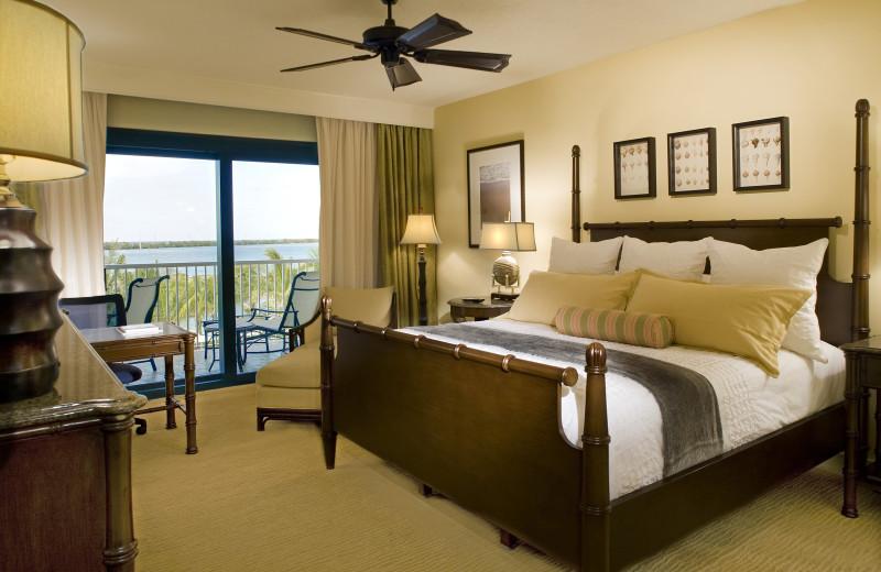 Guest bedroom at Hawks Cay Resort.