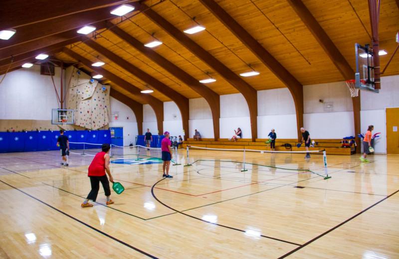 Gym at Waterville Valley Resort Association.