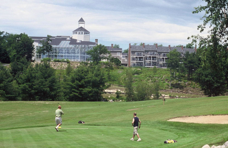 9-hole executive golf course at Steele Hill Resort.