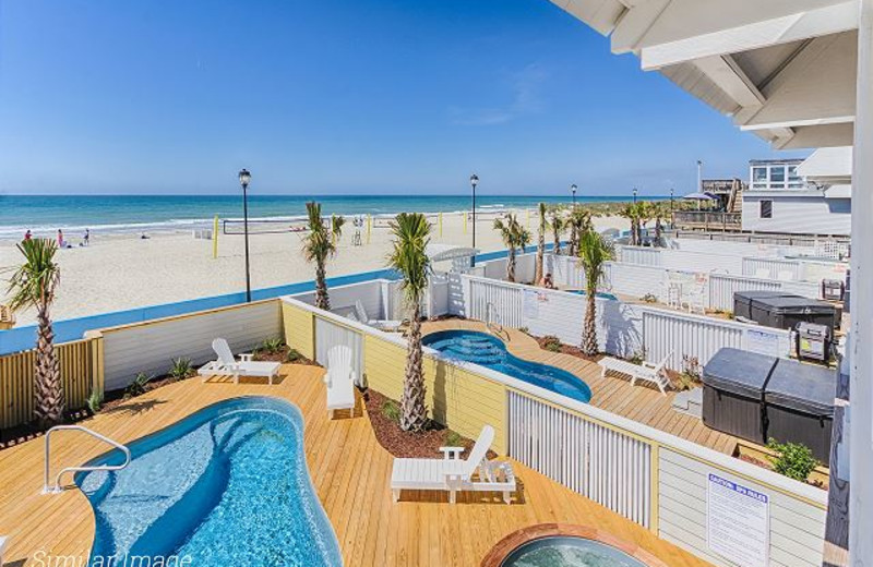 Rental pool at Realty World - First Coast Realty.