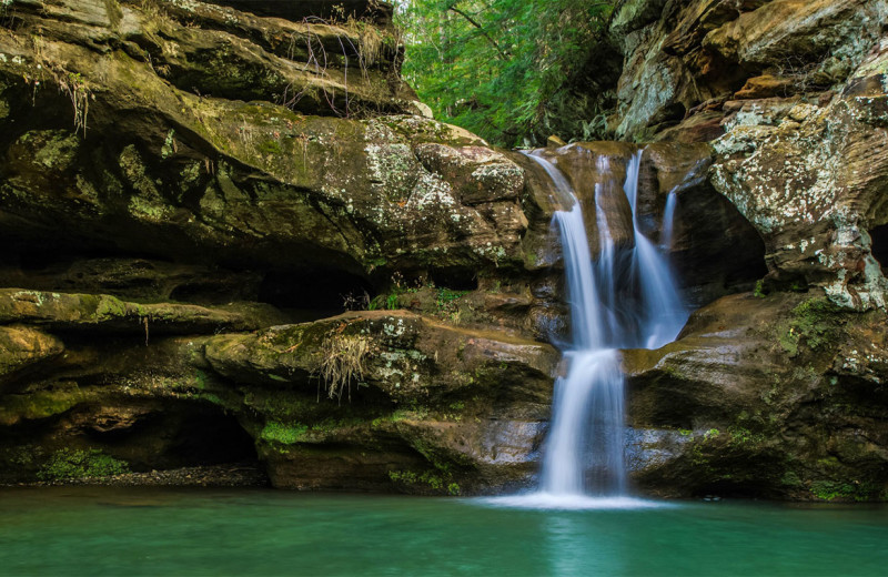 Waterfall near Aspen Ridge.