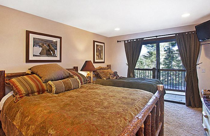 Guest room at 101 Great Escapes.