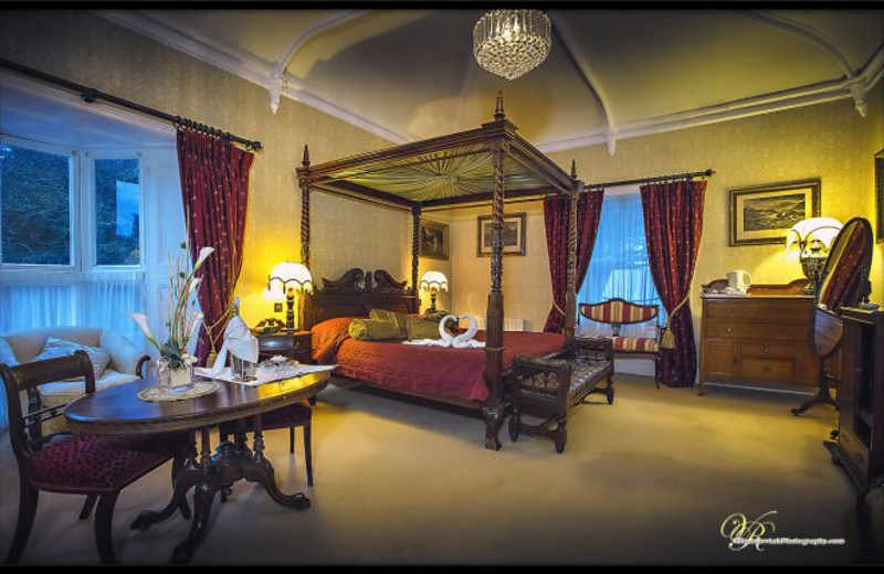 Guest room at Abbey Hotel.