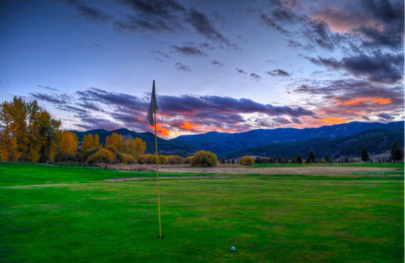 Golf course at Fairmont Hot Springs Resort.