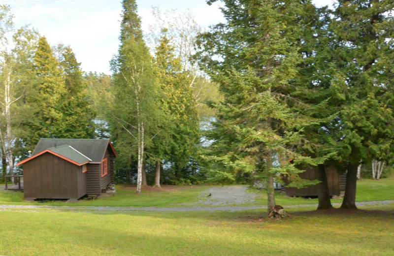 Exterior view of Manotak Lodge.