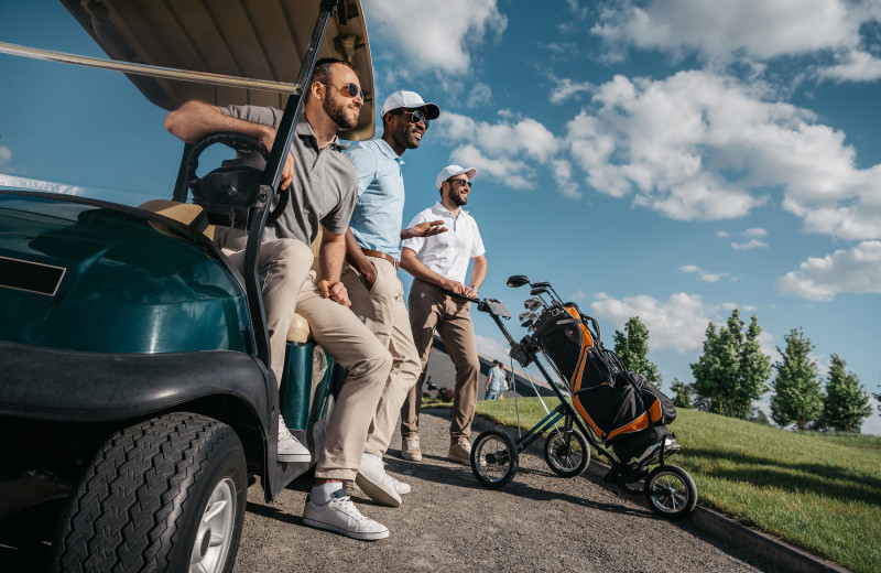 Golf course at Killington Rental Associates.