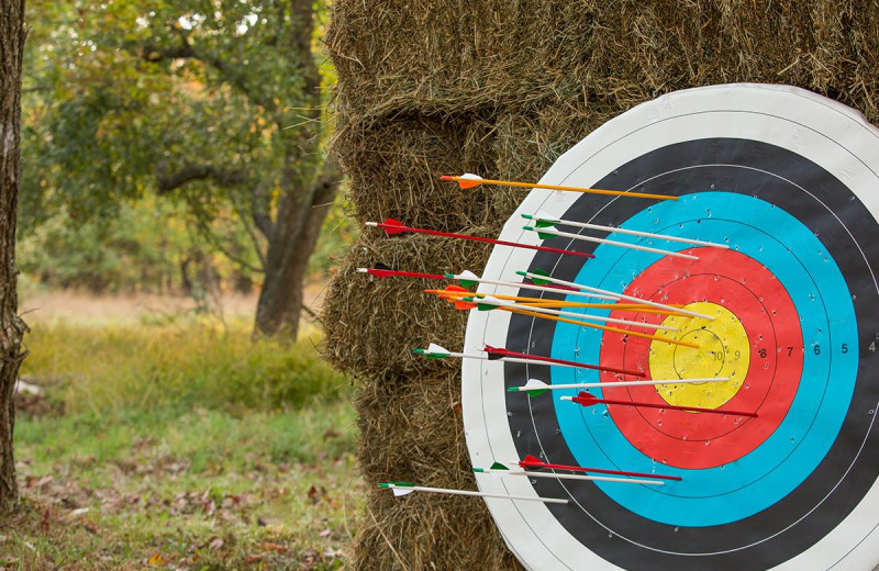 Archery at The Lodge at Woodloch.