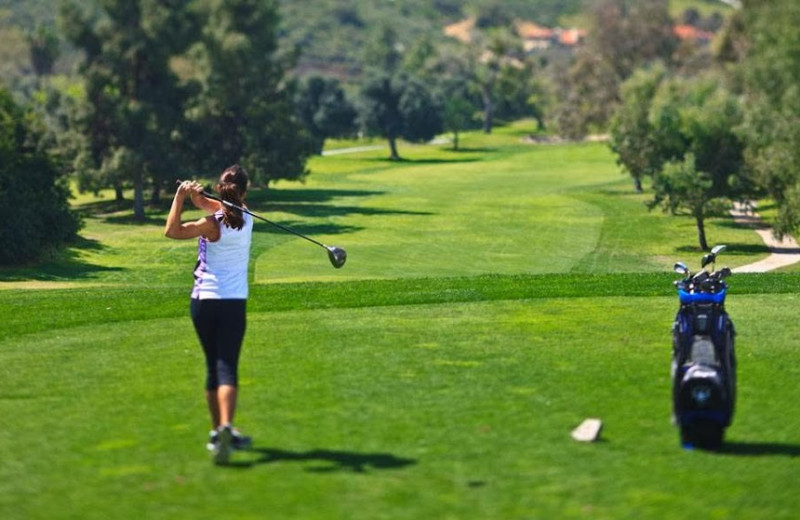 Golf course at Sycuan Resort.