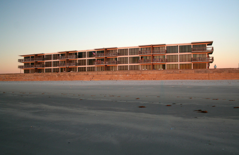 Exterior Views of Island House Beach Front Condominiums