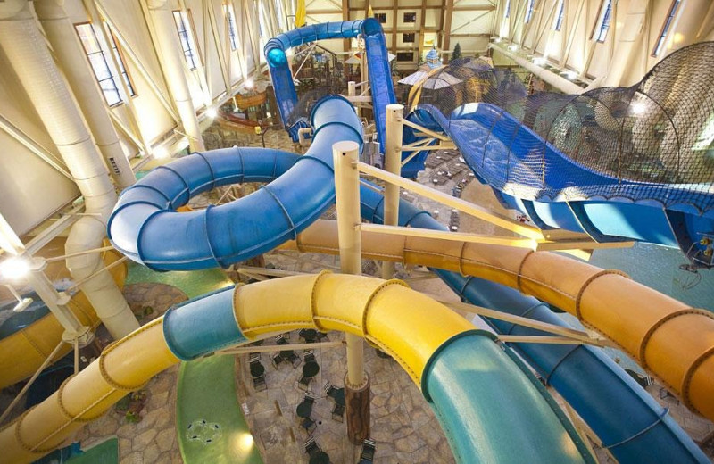 Water park at Great Wolf Lodge - Scotrun.