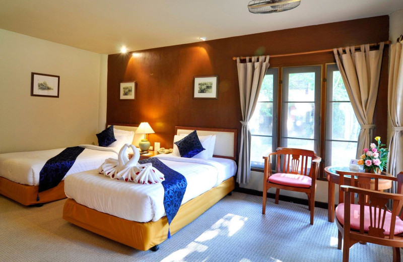 Guest room at Angkhang Nature Resort.