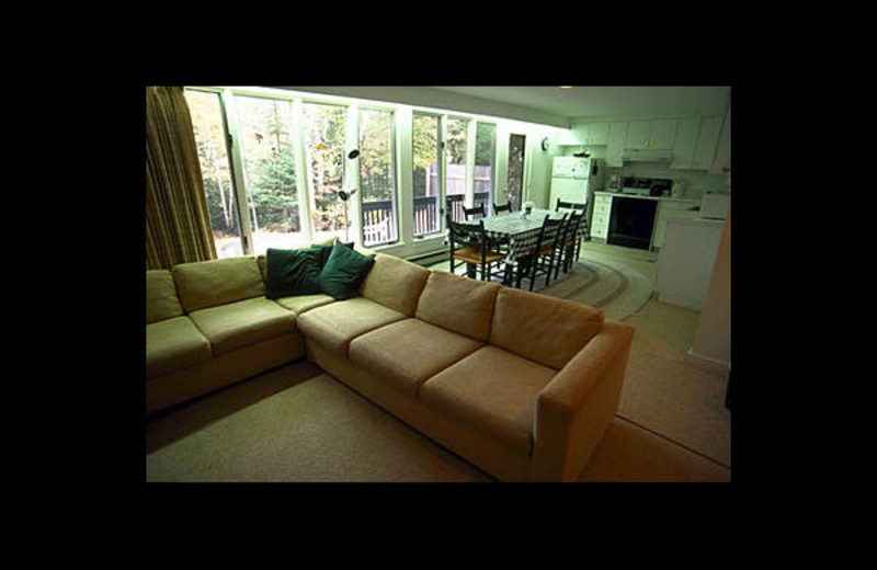 Vacation rental interior at Village Condominium.