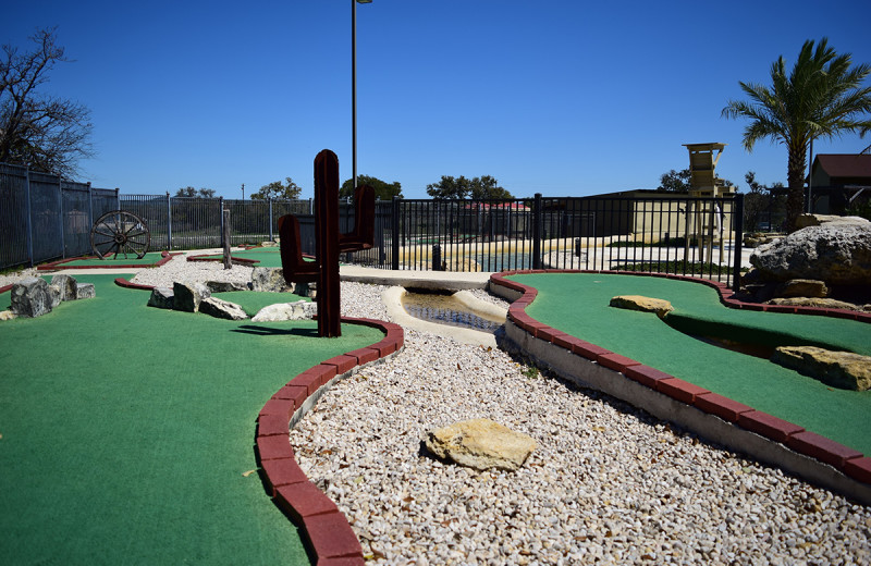 Mini golf at Flying L Hill Country Resort & Conference Center.