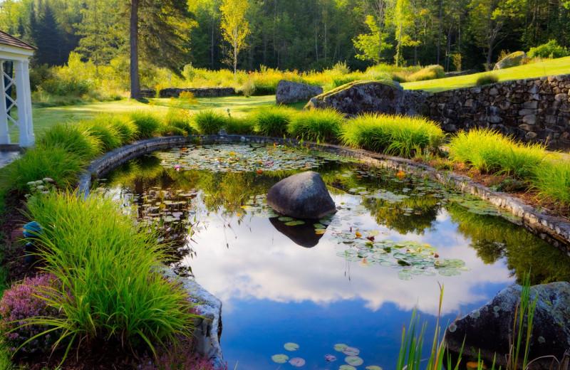 Pond at Adair Country Inn.