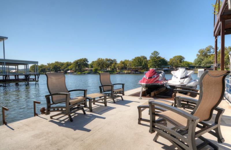 Rental dock at Villa Manana.