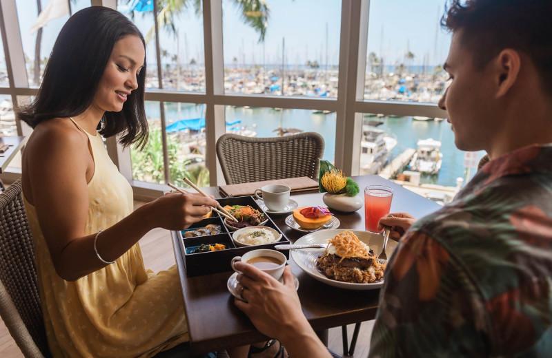 Dining at Prince Waikiki.