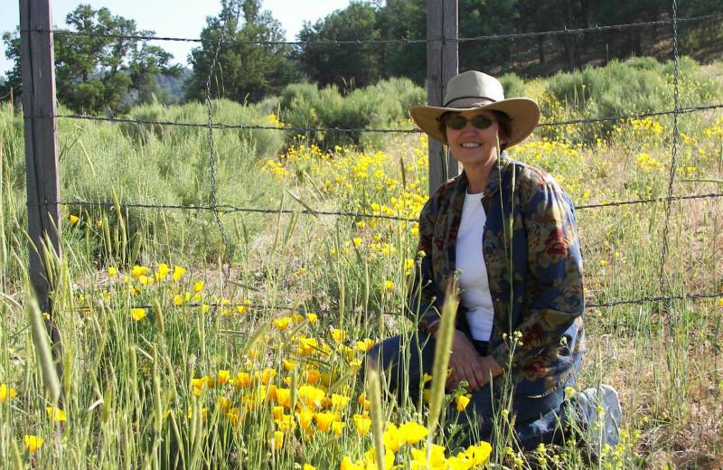 Garden at Rankin Ranch.
