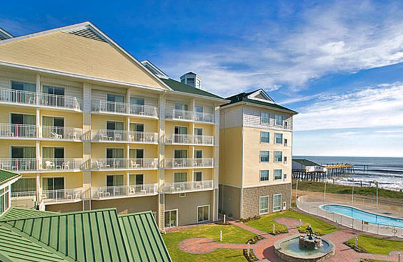 Inn view at Hilton Garden Inn Outer Banks.