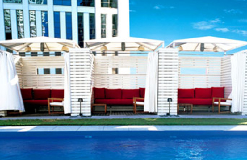 Poolside View at W New Orleans