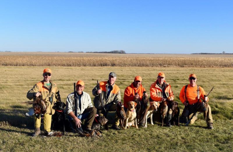 Hunting at Hay's Lodge.