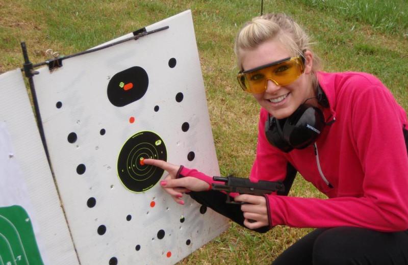 Pistol Range On Property