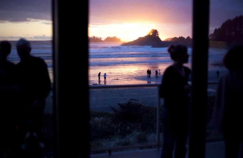Beach at Long Beach Lodge Resort.