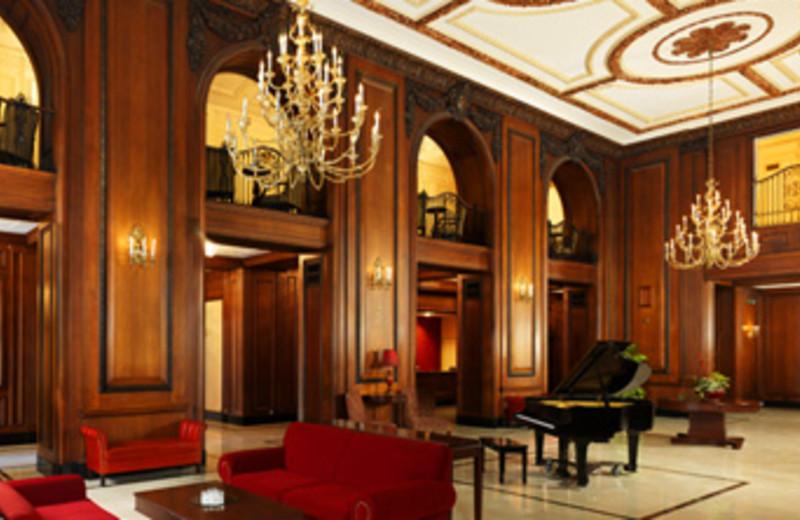 Lobby at Sheraton Read House