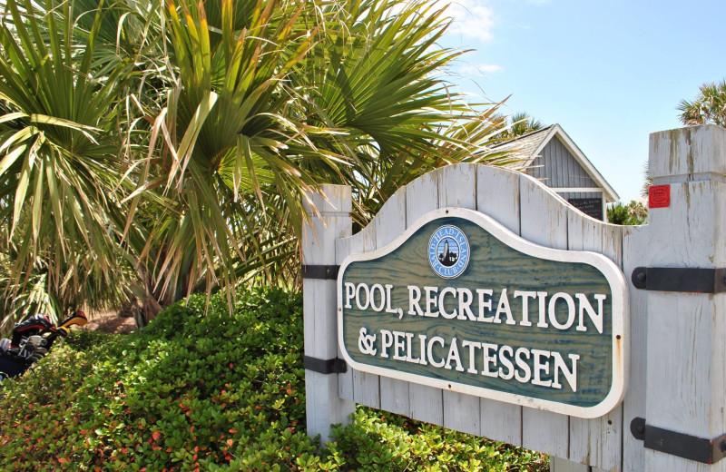 Pool at Mary Munroe Realty: Bald Head Vacations & Sales.