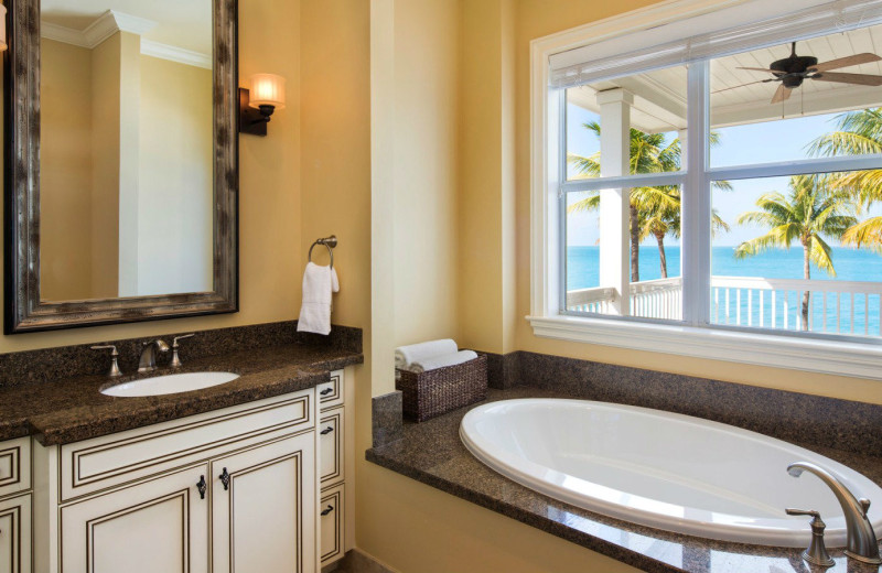 Cottage bathroom at Sunset Key Guest Cottages, a Luxury Collection Resort.